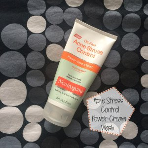 Neutrogena Acne Stress Control Power-Cream Wash