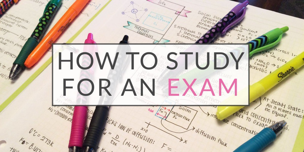 How to Study for an Exam + Printable Checklist