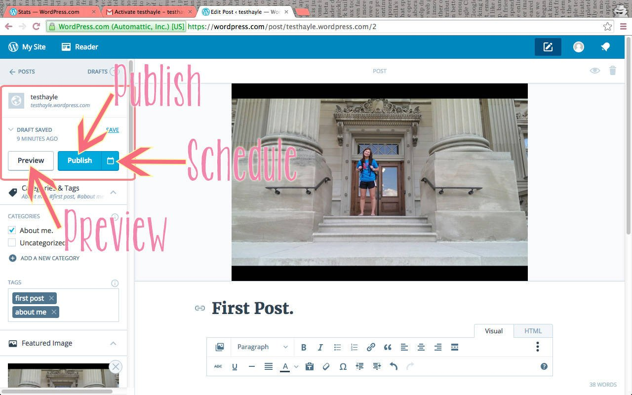 How To Start a FREE WordPress Blog | Hayle Olson | www.hayleolson.com