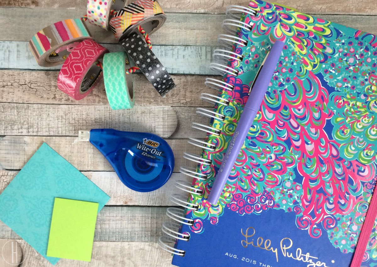 How To Organize your Agenda or Planner