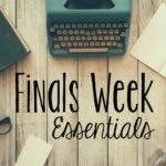 Finals Week Essentials | Hayle Olson | www.hayleolson.com