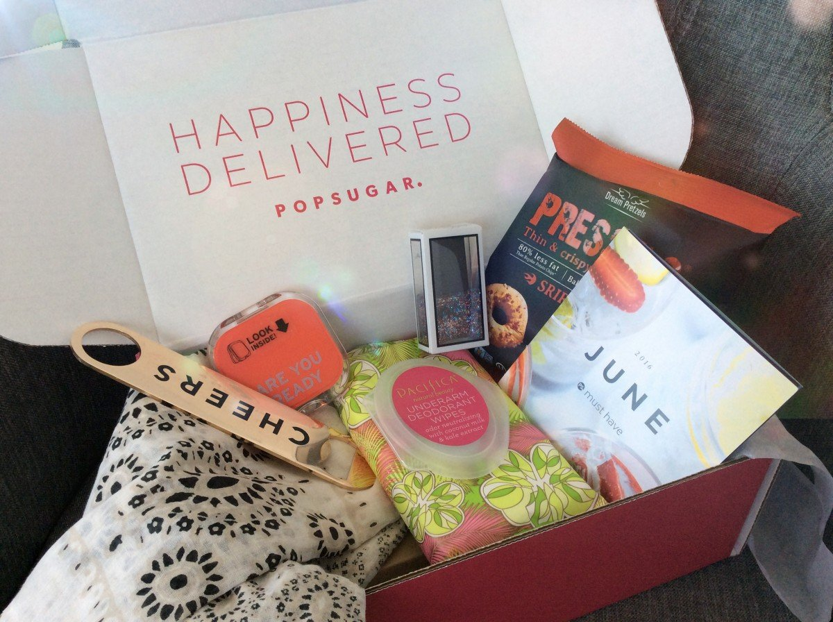 POPSUGAR JUNE MUST HAVE BOX  | HAYLE OLSON | WWW.HAYLEOLSON.COM