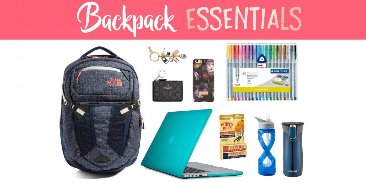 Backpack Essentials | Hayle Olson | www.hayleolson.com