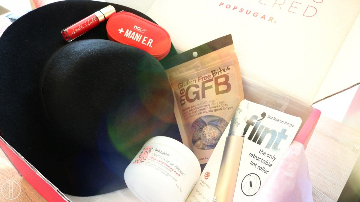 POPSUGAR September Must Have Box