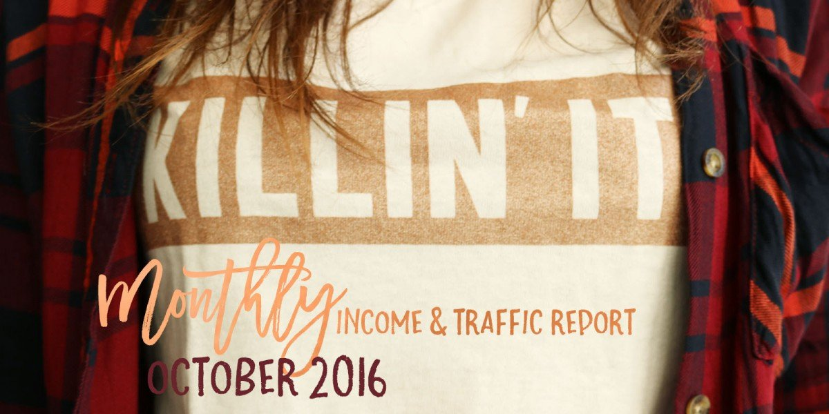 October 2016 Income & Traffic Report