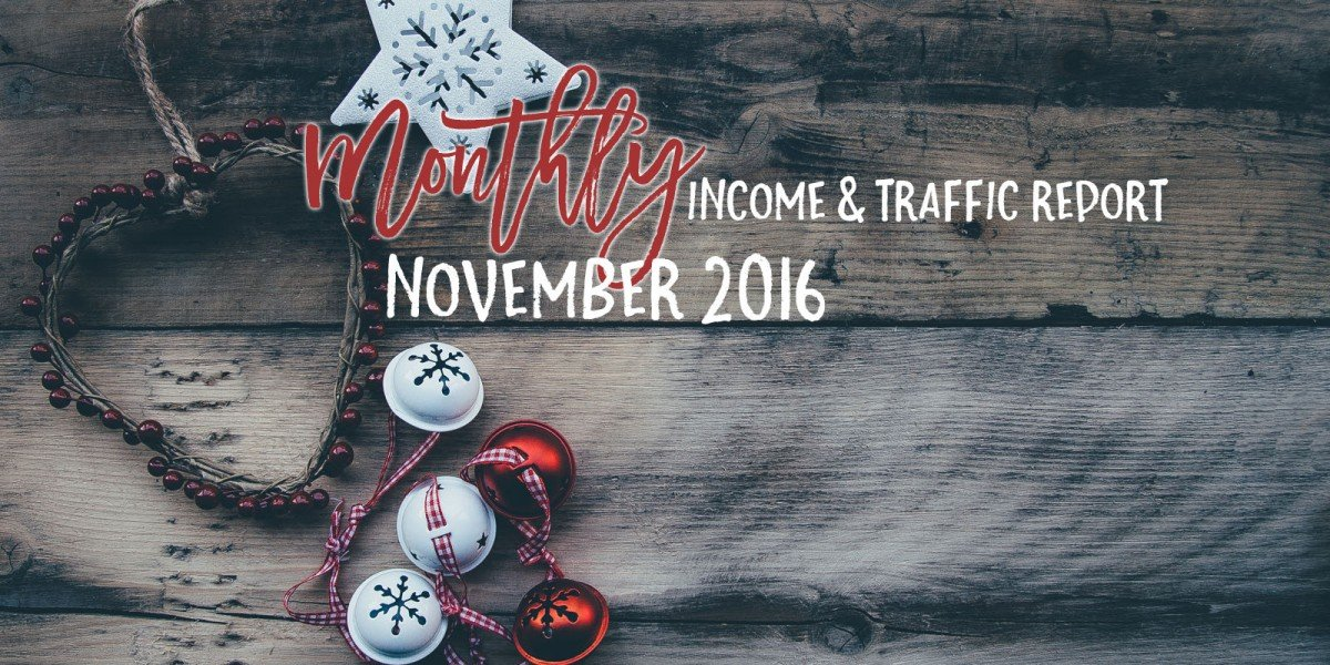 November 2016 Income & Traffic Report