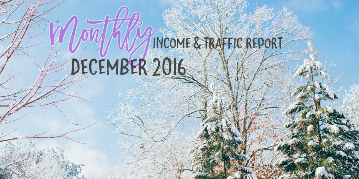 December 2016 Income & Traffic Report