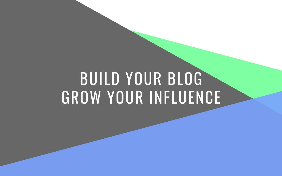 Build Your Blog with Jolt Influence