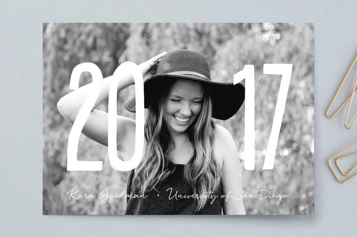 Minted Graduation Invites | College Tips | Hayle Olson | www.hayleolson.com