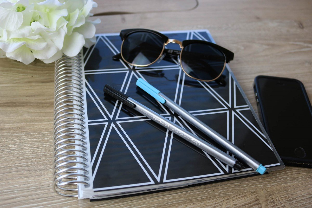 How I Use My Erin Condren Planner | College Tips | Hayle Olson | www.hayleolson.com