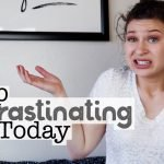 How To Stop Procrastinating | College Tips | Hayle Olson | www.hayleolson.com
