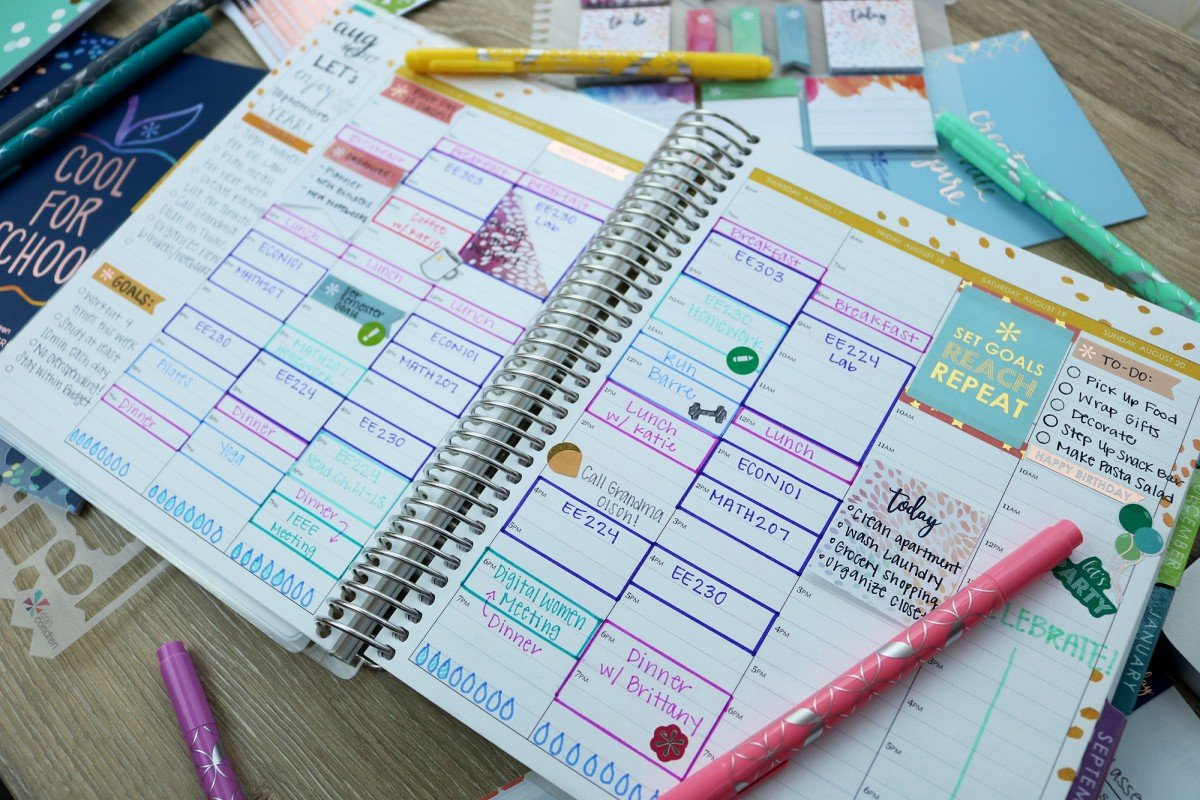 Essential College Planners + Erin Condren Giveaway
