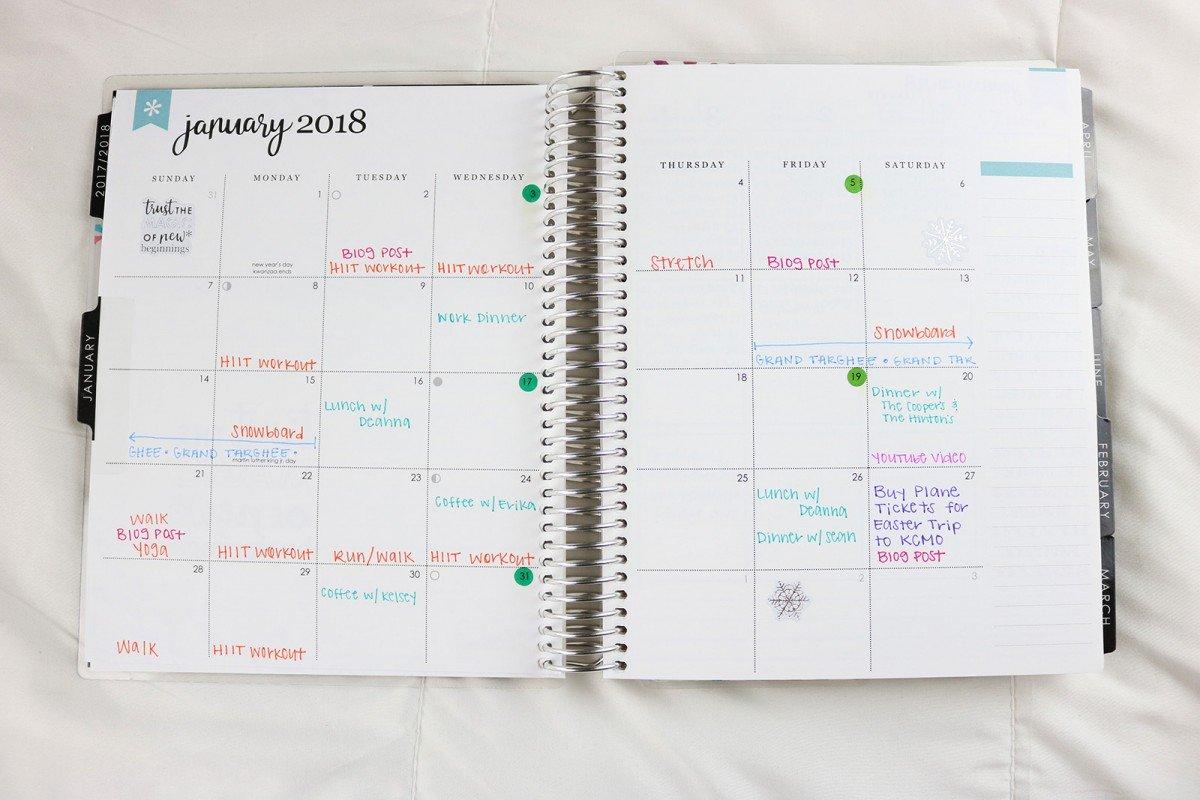 Erin Condren 2018 Life Planner Review | Hayle Olson