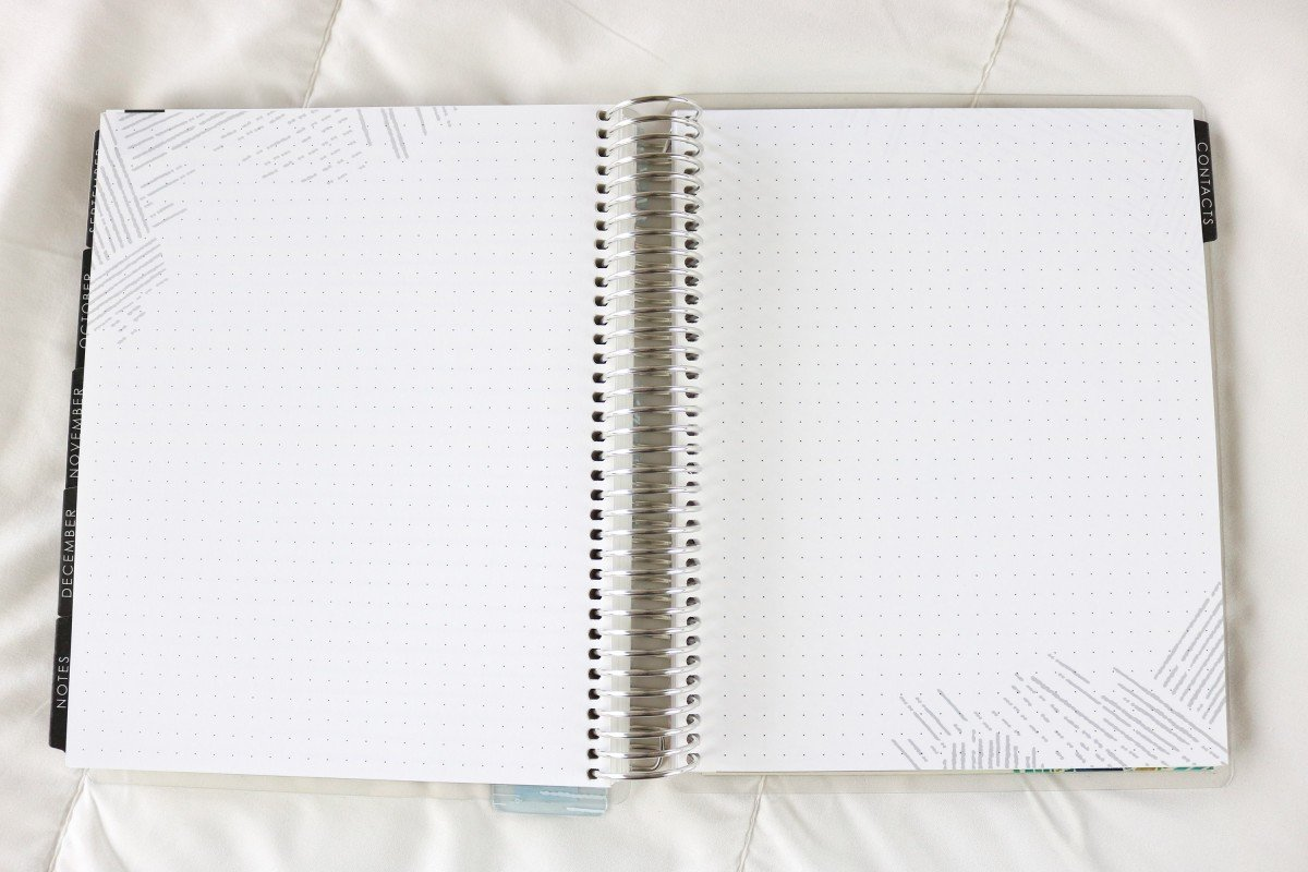 2019 Life Planner Dot Grid Note Pages